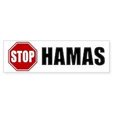 Stop Hamas Bumper Bumper Sticker