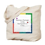 Raising Teenagers Tote Bag