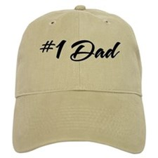 Number One Dad Baseball Cap