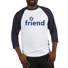Friend of Israel Baseball Jersey