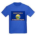 Montana-4 Kids Dark T-Shirt