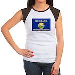 Montana-4 Women's Cap Sleeve T-Shirt