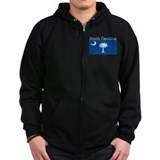 South Carolina State Flag Zip Hoody
