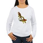 Red-shouldered Hawk Women's Long Sleeve T-Shirt
