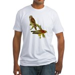 Red-shouldered Hawk Fitted T-Shirt