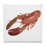 A Lobster on Your Tile Coaster