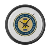 Navy Chief Warrant Officer 2 Large Wall Clock