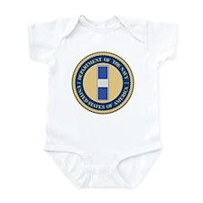 Navy Chief Warrant Officer 3 Infant Bodysuit