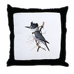 Fuertes' Kingfisher Throw Pillow
