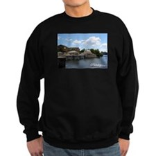 Philly Postcard Dark Sweatshirt: Waterworks