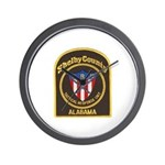 Shelby Tactical Response Wall Clock