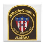 Shelby Tactical Response Tile Coaster