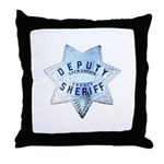 Sacramento Deputy Sheriff Throw Pillow