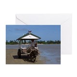 Yubu-jima Buffalo Greeting Cards (Pk of 10)