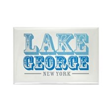 Lake George - Rectangle Magnet