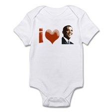 I Heart Obama Infant Bodysuit