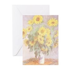 BOUQUET OF SUNFLOWERS Greeting Cards (10 Pk)