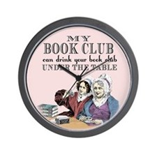 Cute Book club Wall Clock