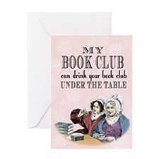bookclub5 x 7 Greeting Cards