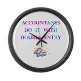 Accountants Gift Large Wall Clock