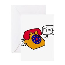 Ring Greeting Card