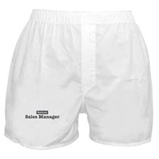 Retired Sales Manager Boxer Shorts