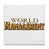 World of Mangement Tile Coaster