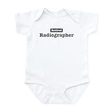 Retired Radiographer Infant Bodysuit