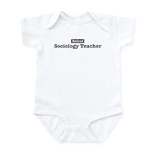 Retired Sociology Teacher Infant Bodysuit