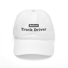Retired Truck Driver Baseball Cap
