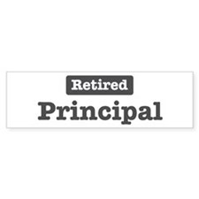 Retired Principal Bumper Sticker (10 pk)