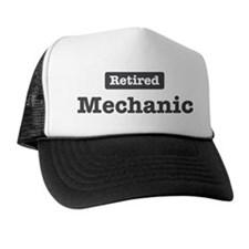 Retired Mechanic Cap