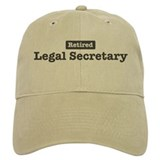 Retired Legal Secretary Baseball Cap