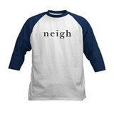 Neigh. Horse language. Tee