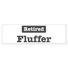 Retired Fluffer Bumper Sticker (10 pk)