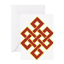 Traditional Endless Knot Greeting Card