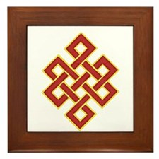 Traditional Endless Knot Framed Tile