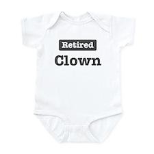 Retired Clown Infant Bodysuit