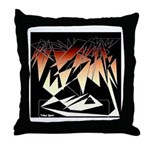 Tribal Spirit Collection Throw Pillow