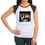 Tribal Spirit Collection Women's Cap Sleeve T-Shir