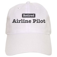 Retired Airline Pilot Baseball Cap