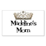 Madeline's Mom Rectangle Decal