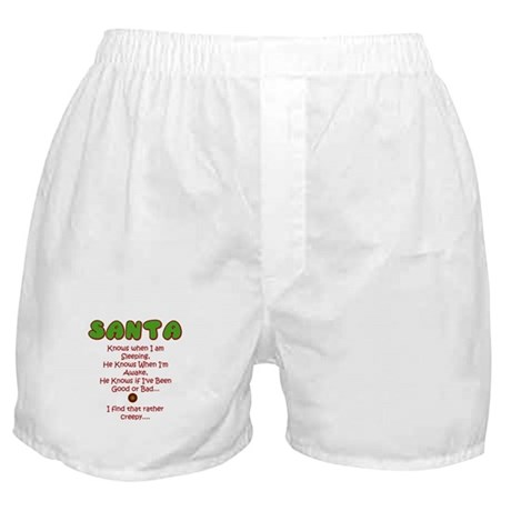 Creepy Santa Boxer Shorts