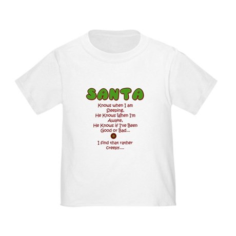 Creepy Santa Toddler T-Shirt