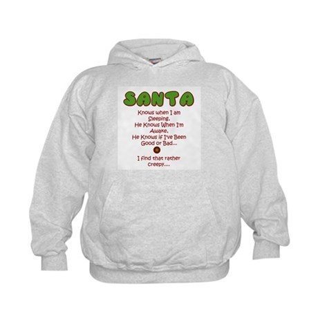 Creepy Santa Kids Hoodie