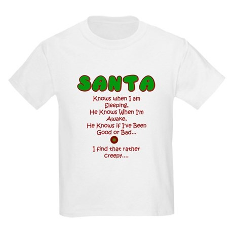 Creepy Santa Kids T-Shirt