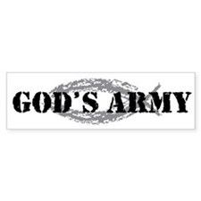 God's Army Bumper Bumper Sticker