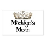 Madelyn's Mom Rectangle Decal