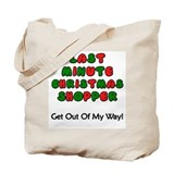 Last Minute Christmas Shopper Tote Bag