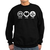 Peace Love Law Jumper Sweater